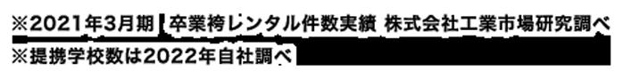 ※2017年度 袴レンタル件数実績 株式会社工業市場研究所調べ